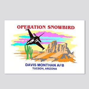SNOWBIRD F-16 Postcards (Package of 8)