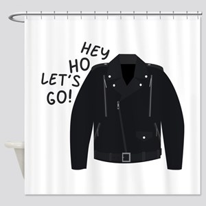 Hey Ho Lets Go Shower Curtain