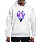 Valentine Ace of Cups Hooded Sweatshirt