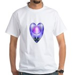 Valentine Ace of Cups White T-Shirt