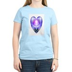Valentine Ace of Cups Women's Pink T-Shirt