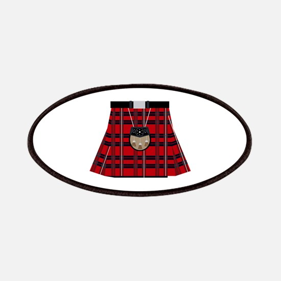 Scottish Kilt Patch