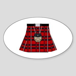 Scottish Kilt Sticker