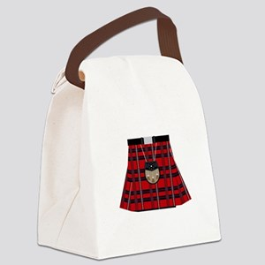 Scottish Kilt Canvas Lunch Bag
