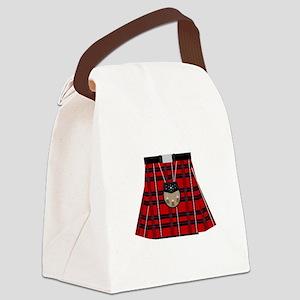 Scottish Kilt Canvas Lunch Bag