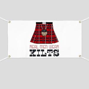 Real Men Wear Kilts Banner