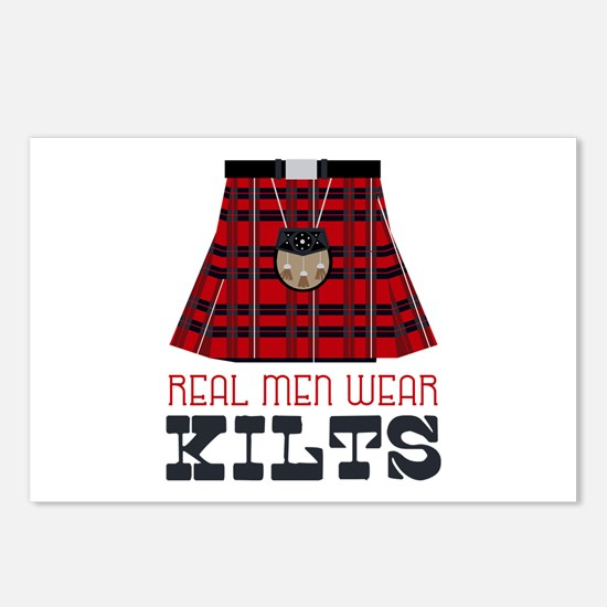 Real Men Wear Kilts Postcards (Package of 8)