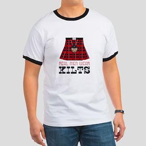 Real Men Wear Kilts T-Shirt