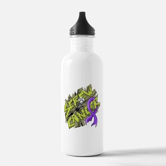 -Screw Hodgkin's Lymph Water Bottle