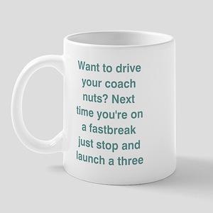 Fast Break 3 Pointer Mug