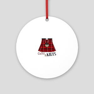 Celts & Kilts Round Ornament