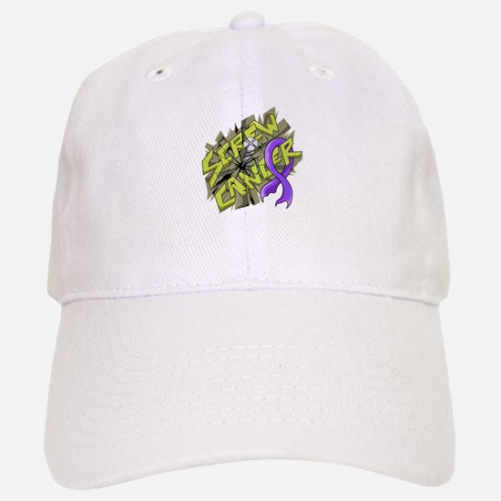 -Screw Hodgkin's Lymphoma 4C Baseball Baseball Cap