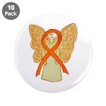 Orange Awareness Ribbon Angel 3.5