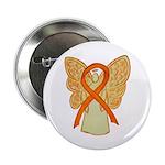 """Orange Awareness Ribbon 2.25"""" Button (10 Pack"""