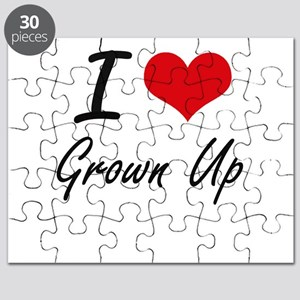 I love Grown Up Puzzle