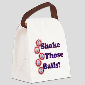 Bingo Shake Canvas Lunch Bag