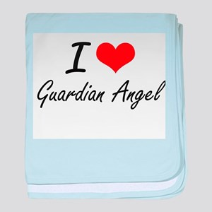 I love Guardian Angel baby blanket