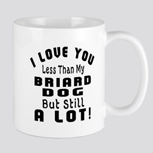 Briard dog designs Mug