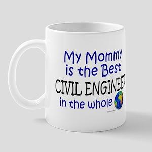 Best Civil Engineer In The World (Mommy) Mug