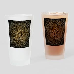 Decorative damask Drinking Glass