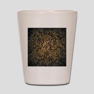 Decorative damask Shot Glass