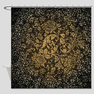 Decorative damask Shower Curtain