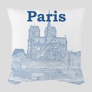 Paris Woven Throw Pillow