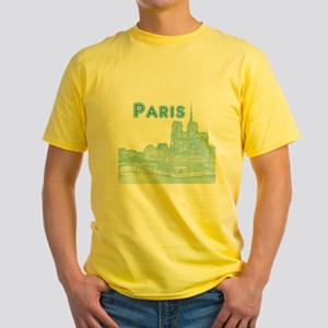 Paris Yellow T-Shirt