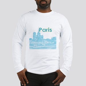 Paris Long Sleeve T-Shirt