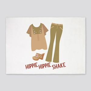 Hippie Shake 5'x7'Area Rug