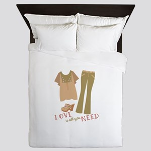Love All You Need Queen Duvet