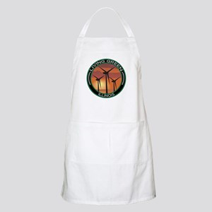 Living Green Illinois Wind Power BBQ Apron