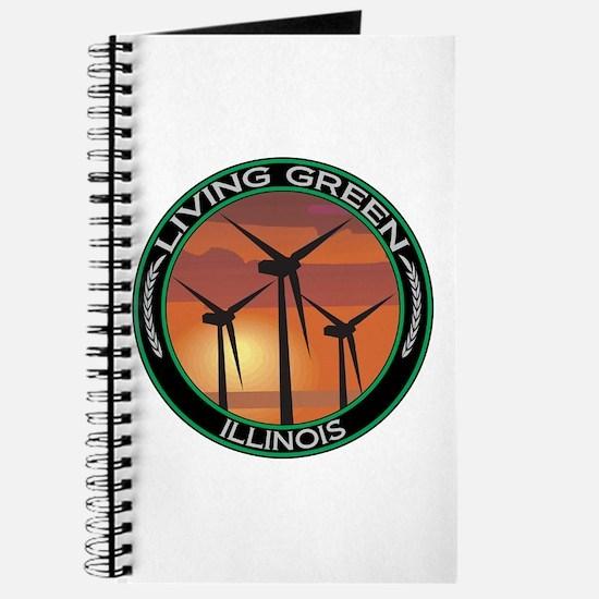 Living Green Illinois Wind Power Journal