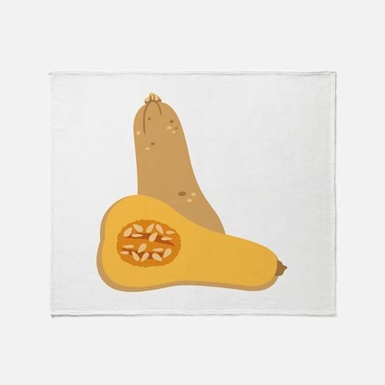 Butternut Squash Throw Blanket