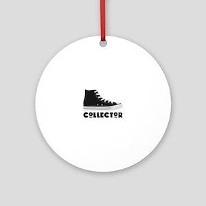 Sneaker Collector Round Ornament