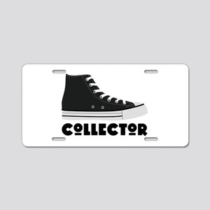 Sneaker Collector Aluminum License Plate