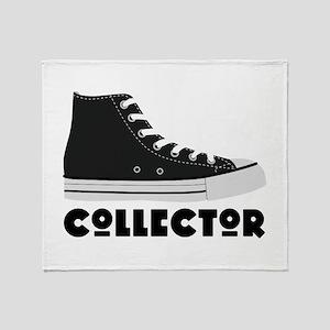 Sneaker Collector Throw Blanket