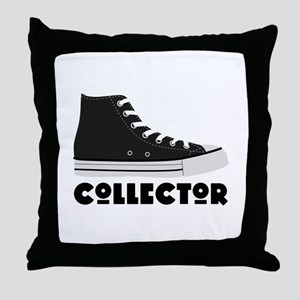 Sneaker Collector Throw Pillow