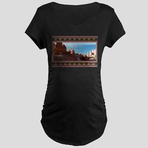 BRYCE CANYON SPIRES Maternity Dark T-Shirt