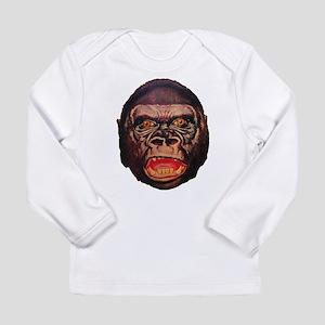 Retro Gorilla Long Sleeve T-Shirt