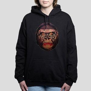 Retro Gorilla Women's Hooded Sweatshirt