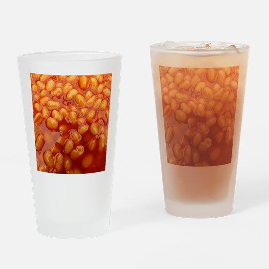 Cute Baked beans Drinking Glass