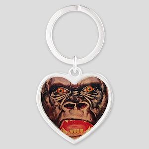 Retro Gorilla Keychains