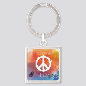 Peace Sign Keychains
