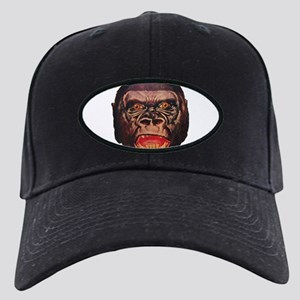 Retro Gorilla Black Cap