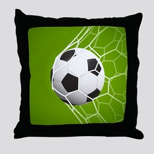 Football Goal Throw Pillow