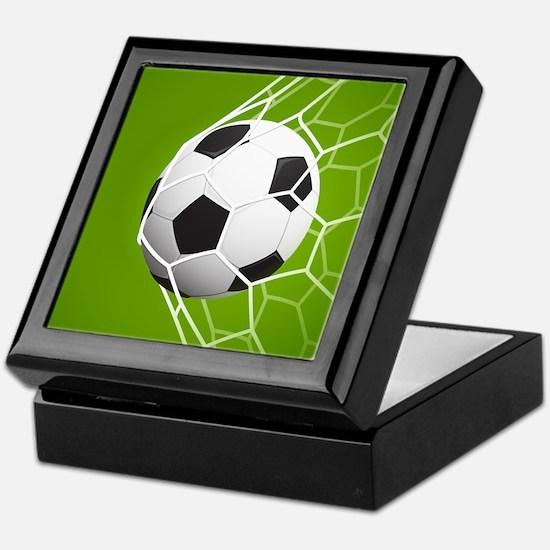 Football Goal Keepsake Box