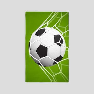 Football Goal Area Rug