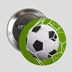 """Football Goal 2.25"""" Button (10 pack)"""