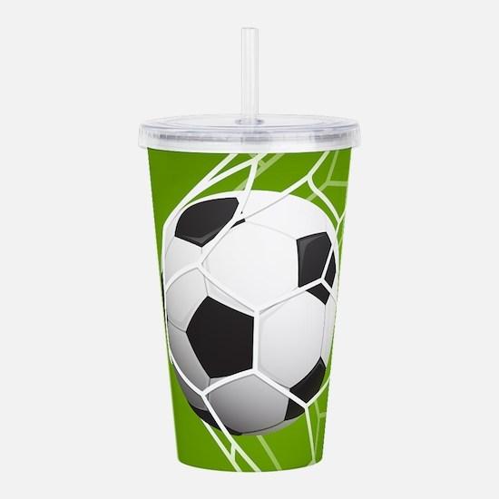 Football Goal Acrylic Double-wall Tumbler